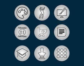 #25 para Require 9 icons in vector format por josepave72