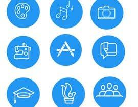 #5 para Require 9 icons in vector format por fmbocetosytrazos