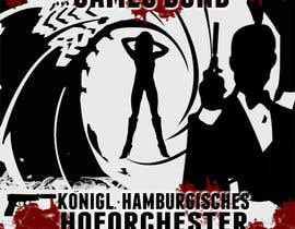 #107 for James Bond Poster Design for Orchestra Concert by lolish22