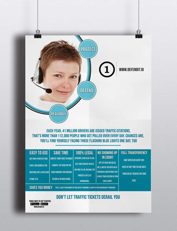 Konkurrenceindlæg #1 for Design a Flyer for services