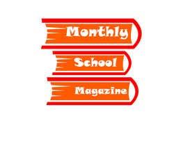 """esetan86 tarafından Design a Logo for """"monthly school magazine"""" için no 7"""