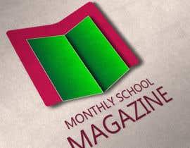 """janani1234 tarafından Design a Logo for """"monthly school magazine"""" için no 10"""
