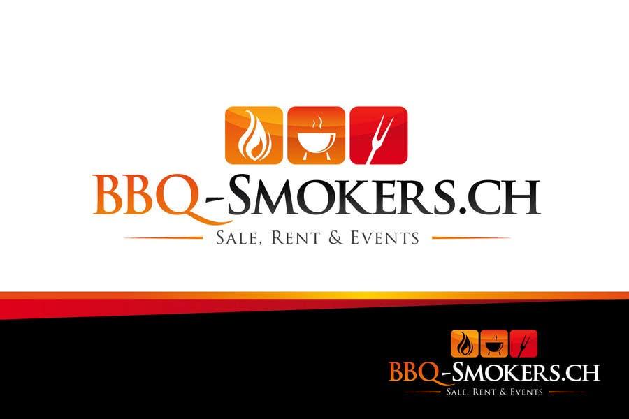 Kilpailutyö #277 kilpailussa Logo Design for our new Company: BBQ-Smokers