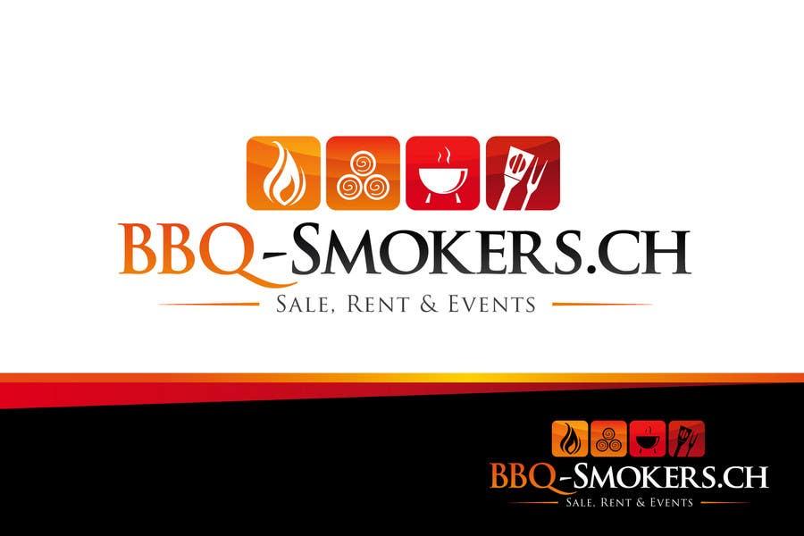 Kilpailutyö #283 kilpailussa Logo Design for our new Company: BBQ-Smokers