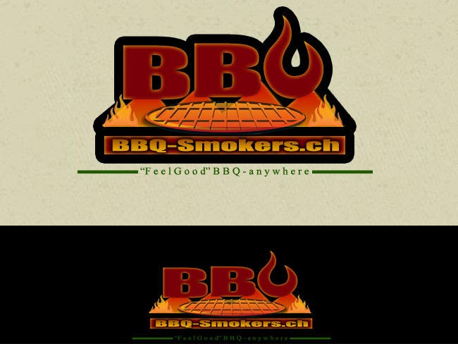 Kilpailutyö #272 kilpailussa Logo Design for our new Company: BBQ-Smokers