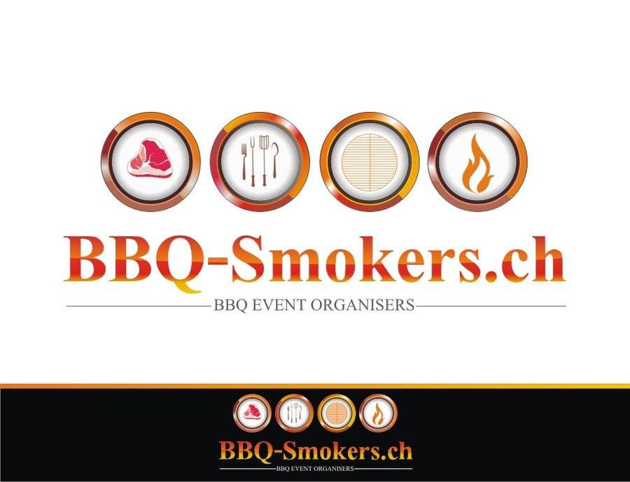 Kilpailutyö #280 kilpailussa Logo Design for our new Company: BBQ-Smokers