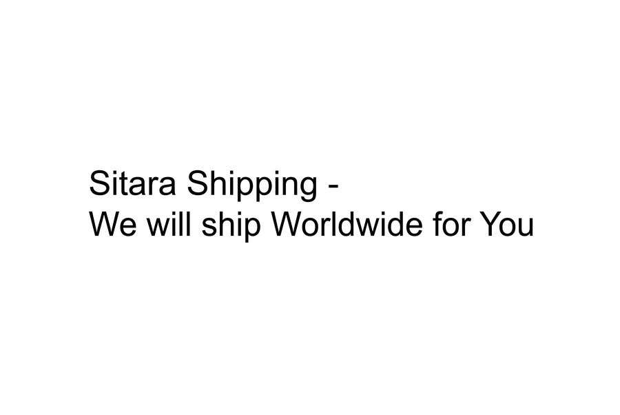 Entry #30 by StoimenT for My company name is Sitara Shipping  I need