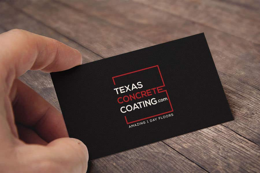 Penyertaan Peraduan #1300 untuk Modern Logo for New Concrete Coating Company