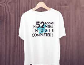 #11 for create a picture for a t-shirt - book reading af herodesigns