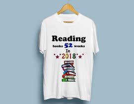 #23 for create a picture for a t-shirt - book reading af konikaroy846