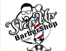 Nro 17 kilpailuun barbershop logo design käyttäjältä RifatNR
