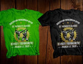 #42 for Tshirt graphic - SWO St Patrick's Classic Karate Tournament by robiulhossi