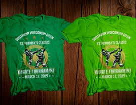 #43 for Tshirt graphic - SWO St Patrick's Classic Karate Tournament by robiulhossi