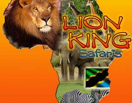 #45 untuk Logo Design for LION-KING SAFARIS oleh lorikeetp9