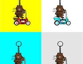 nº 23 pour Design Keychain for Electric Scooter Brand par MZeeshanShahzad