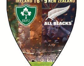 #52 для IRE vs NZ rugby competition poster от sayannandi41