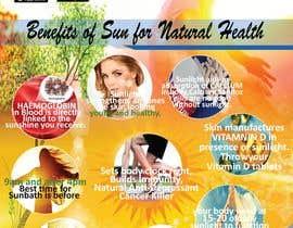 #23 untuk Design a poster - Benefits of Sun for Natural Health oleh saminaakter20209