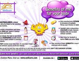 #32 untuk Design a poster - Benefits of Sun for Natural Health oleh Poppinrahul