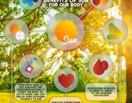 #13 untuk Design a poster - Benefits of Sun for Natural Health oleh HarithaDenuwan