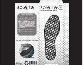 #24 untuk New Product Package and labels design (insoles) oleh LanaZel