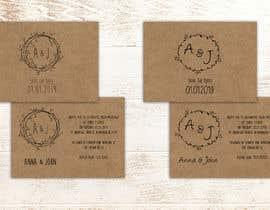 Nro 16 kilpailuun Design a rustic wedding invite template käyttäjältä pepimarson