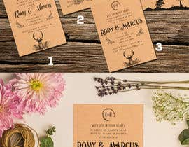 Nro 37 kilpailuun Design a rustic wedding invite template käyttäjältä adesign060208