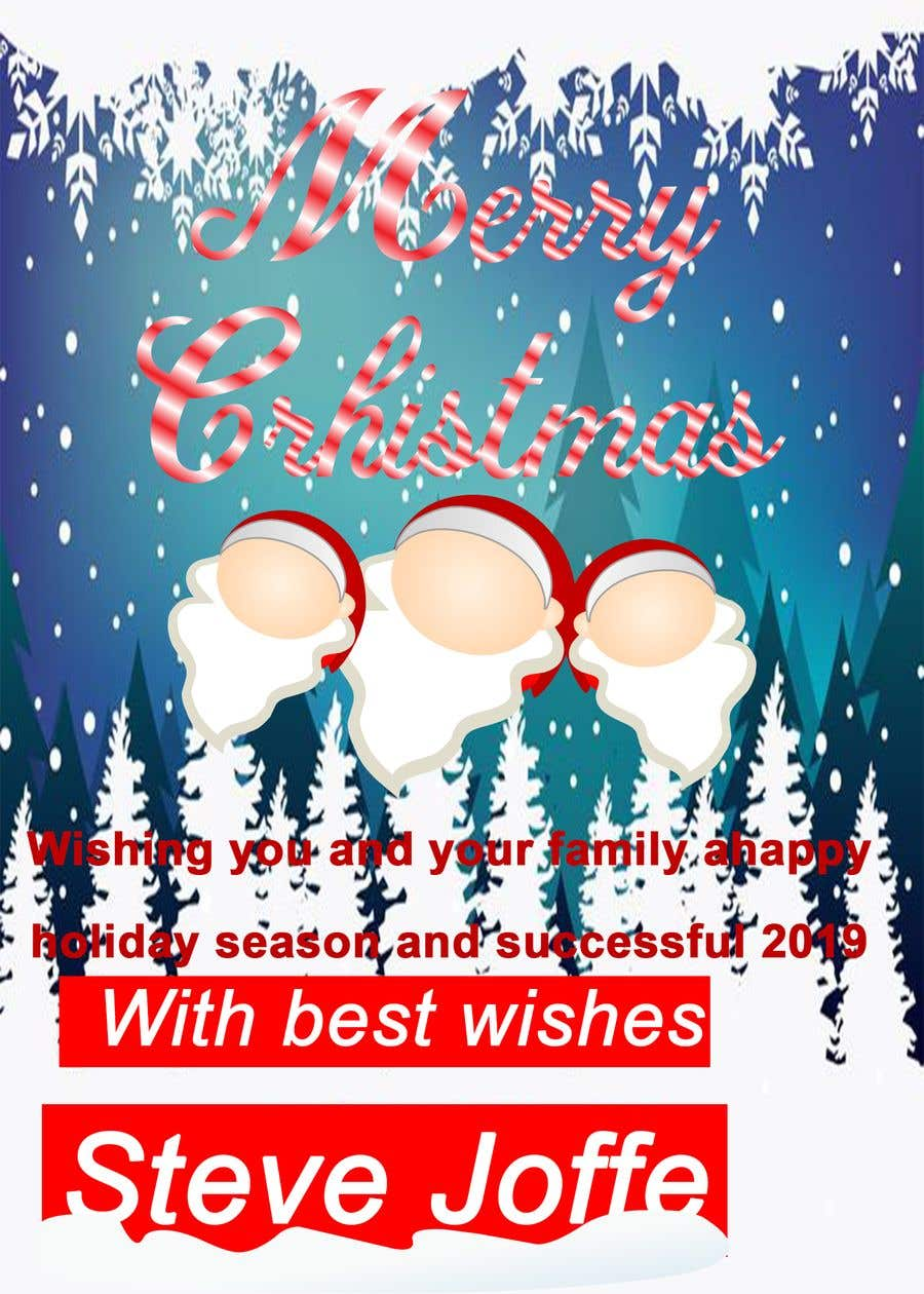 Entry 38 By Harisbutt2 For Design A Christmas Card 2018