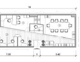 #6 for Design a floor plan for a brewery with tasting room af visibilizar