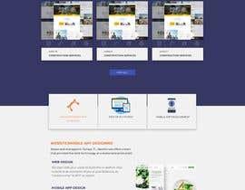 #57 para Design web and mobile app development company website mockup por mnsiddik84