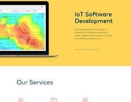 #11 para Design web and mobile app development company website mockup por freelancerarien1