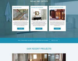 Nro 38 kilpailuun Build a fairly basic wordpress website for small glass company käyttäjältä SimranChandok