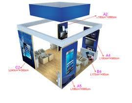 nº 40 pour Design Trade Show Displays/Booth par biswajitgiri