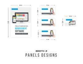 nº 15 pour Design Trade Show Displays/Booth par frontrrr