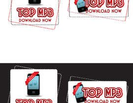 #8 for Logo Design for Ringtone and Mp3 Download App by GeorgeOrf