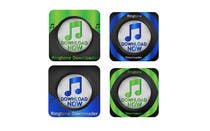 Entry # 10 for Logo Design for Ringtone and Mp3 Download App by