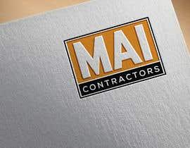 #330 untuk Contractor Logo oleh designguruuk