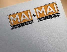 #332 untuk Contractor Logo oleh designguruuk