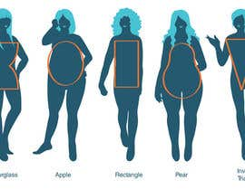 #56 para Illustration Design for female body shapes/ types de CrimsonPumpkin