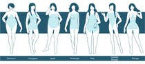 Illustration Design for female body shapes/ types için Graphic Design54 No.lu Yarışma Girdisi