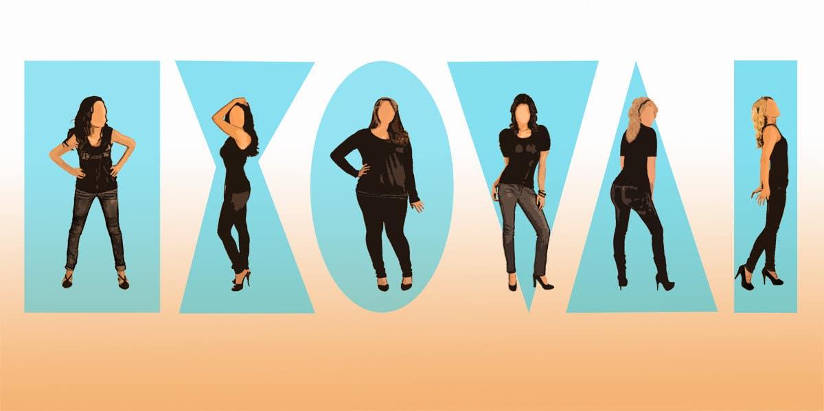Penyertaan Peraduan #                                        42                                      untuk                                         Illustration Design for female body shapes/ types