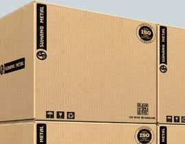 nº 12 pour Simple carton box printing design par stevenn66