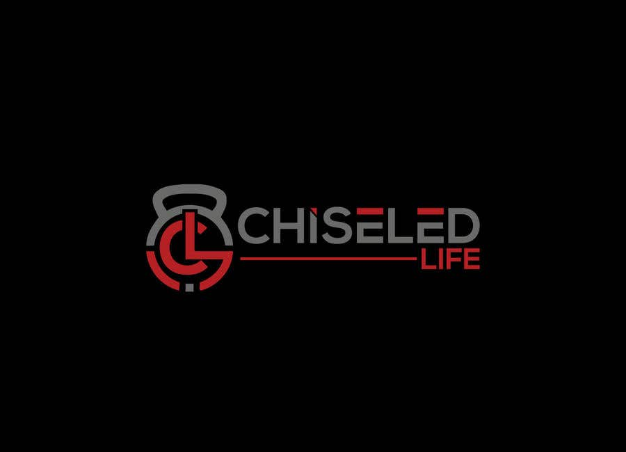 Kilpailutyö #4 kilpailussa Fitness brand logo design -  Chiseled life