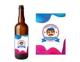 Nro 19 kilpailuun We need a Design for a Beer Bottle Label käyttäjältä jadejoson
