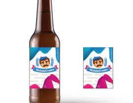Nro 14 kilpailuun We need a Design for a Beer Bottle Label käyttäjältä eling88