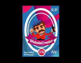 Nro 8 kilpailuun We need a Design for a Beer Bottle Label käyttäjältä rocket58