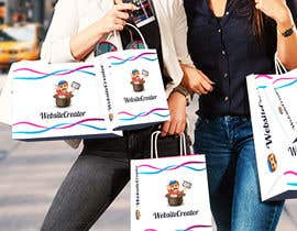 Nro 15 kilpailuun Design a promotional shopping bag käyttäjältä shemmicl