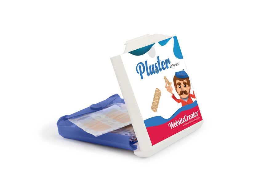 Kilpailutyö #20 kilpailussa Design a promotional plaster box