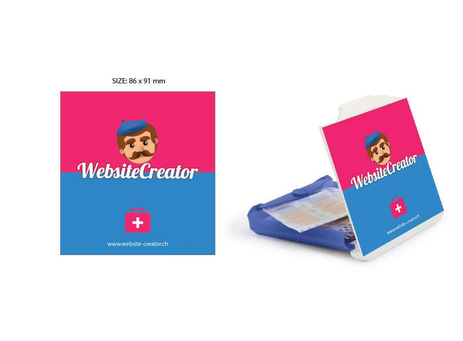 Kilpailutyö #2 kilpailussa Design a promotional plaster box