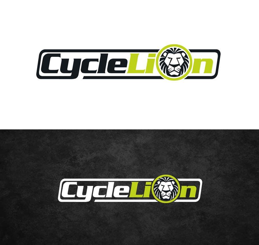 """Inscrição nº                                         27                                      do Concurso para                                         Design a Logo for """"Cycle Lion"""""""
