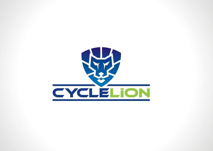 """Inscrição nº                                         26                                      do Concurso para                                         Design a Logo for """"Cycle Lion"""""""